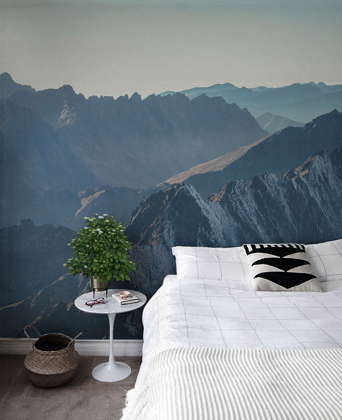 Popular Wallpaper Mountain Bedroom - bedroom_wall_map_nature6  Pictures_464516.jpg