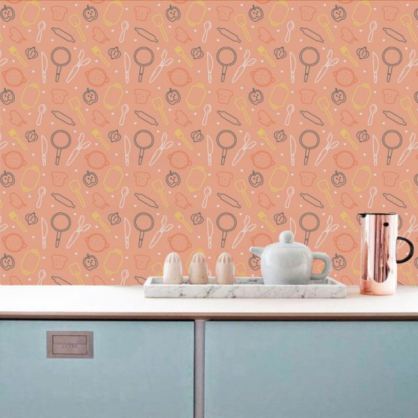 Kitchen wallpaper ideas kitchenroom archives wonder wall