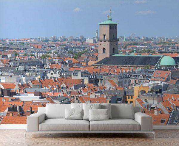 WALLPAPER City View Wall Mural Copenhagen Per Square Meter