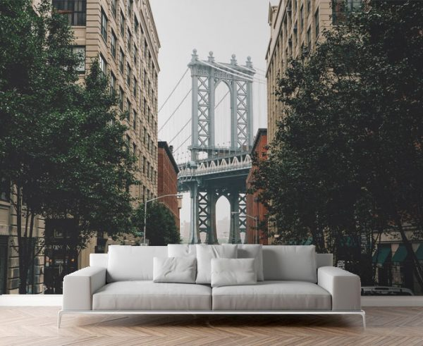 Wallpaper City View Wall Mural New York City Per Square Meter