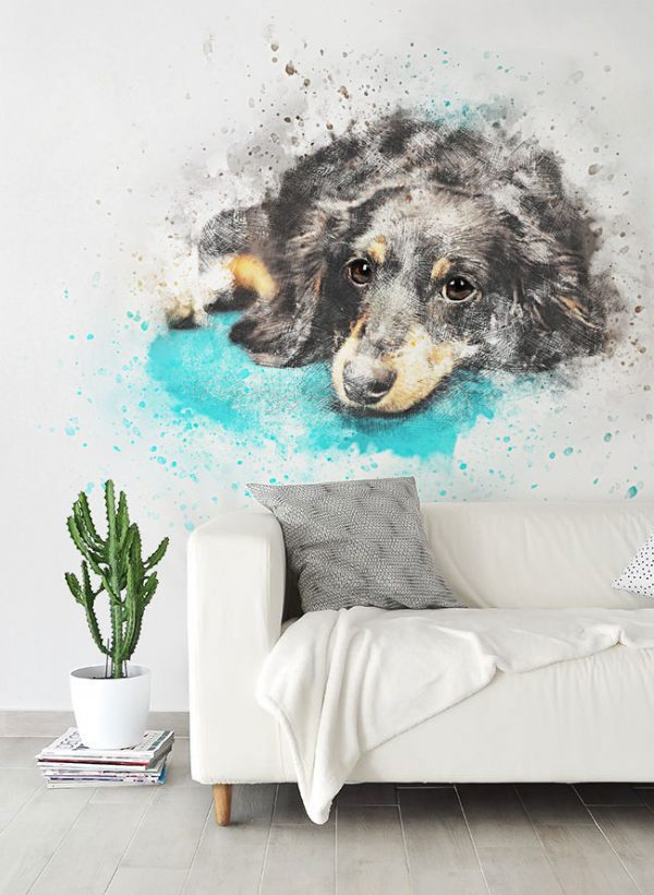 Wallpaper Art Your Wall Wall Mural Dog Per Square Meter